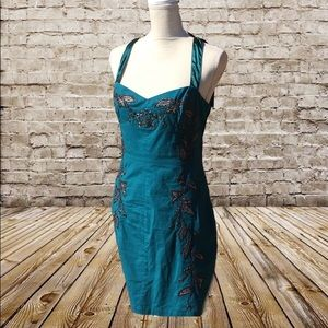 NWT Free People Embroidered Dress Sz.8
